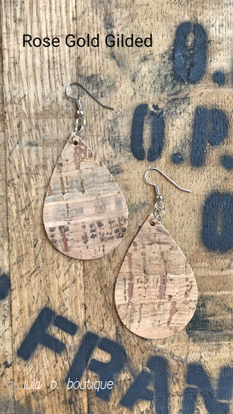 Earrings Cork