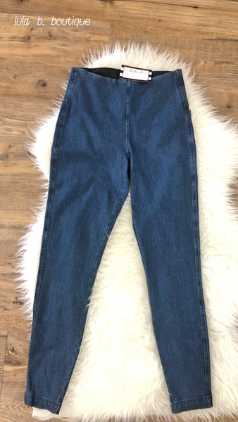 Leggings Toothpick Denim