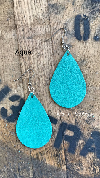 Earrings Leather