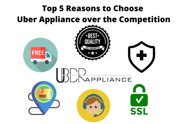 Top 5 Reasons you should buy Uber Appliance products over the competition Uber Appliance