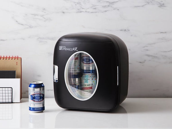Uber Chill XL Beer Fridge with beer inside