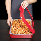 "Uber Party Pans - 9""X13"" To go Casserole Foil Pan carrier 2 in 1"