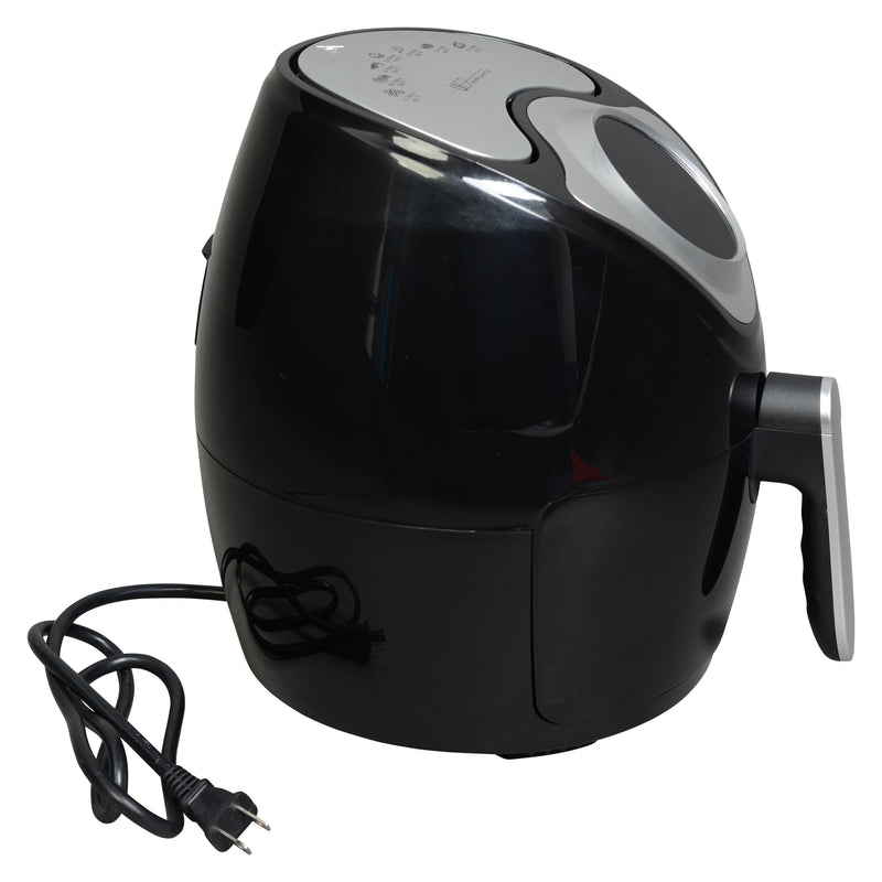 1300 Watt Uber Appliance 3.7 QT Air Fryer With Digital Programmable Touch Screen
