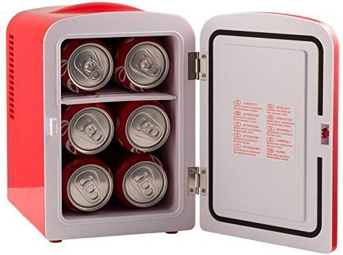 Uber Appliance Uber Chill Mini Fridge holds up to 6 cans of pop