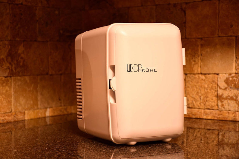Uber Appliance Uber Kuhl UB-KH1 6-can Personal Mini Fridge- Bedroom, Office Dorm
