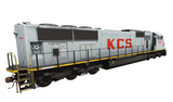 Kansas City Southern - EMD SD70MAC - Grey