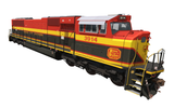 Kansas City Southern - EMD SD70MAC BELLE