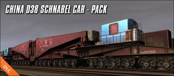 China D38 Schnabel Car - Full Pack