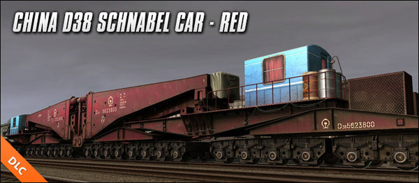 China D38 Schnabel Car - Red