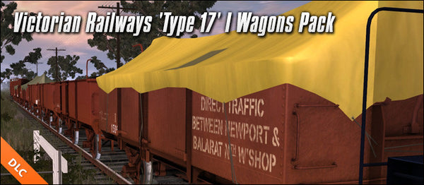 Victorian Railways 'Type 17' I Wagons Pack