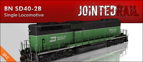 Burlington Northern Railroad - EMD SD40-2B