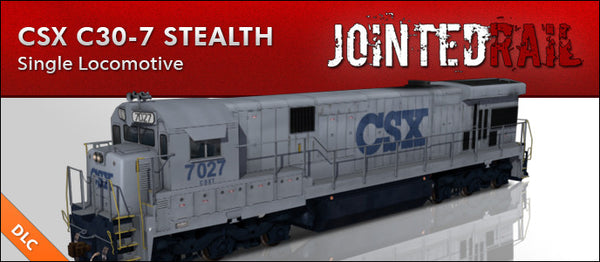 CSX Transportation - GE C30-7 Stealth