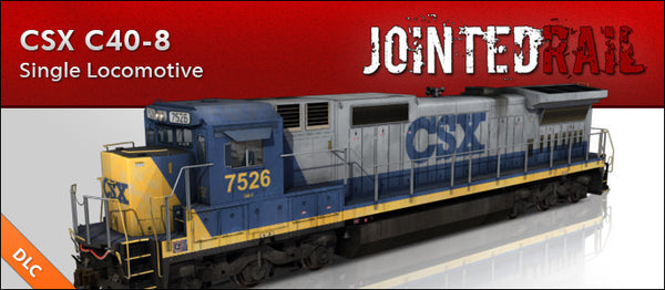 CSX Transportation - GE C40-8