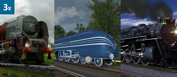 Trainz Triple Treat DLC Bundle (3 Pack)