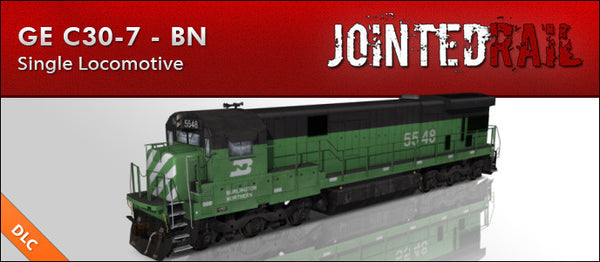 Burlington Northern Railroad - GE C30-7