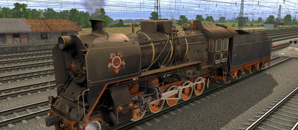 CO17-4373 ( Russian Loco and Tender )