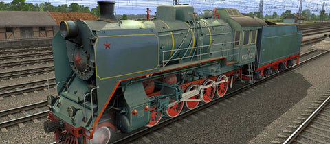 CO17-4174 ( Russian Loco and Tender )