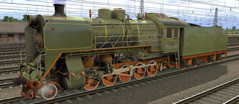 CO17-4171 ( Russian Loco and Tender )
