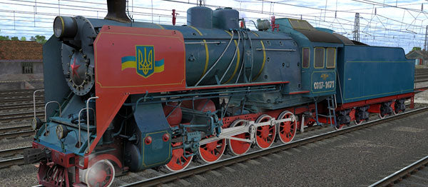 CO17-1471 ( Russian Loco and Tender )