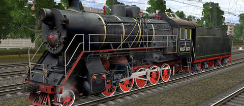 CO17-1171 ( Russian Loco and Tender )