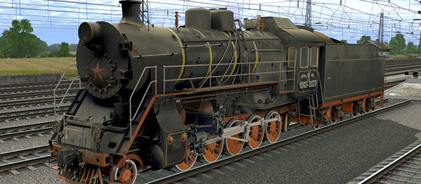 CO17-3173 ( Russian Loco and Tender )