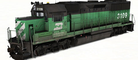 EMD GP50 - Burlington Northern (Phase I)