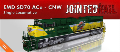Union Pacific - EMD SD70ACe - Chicago North Western Heritage