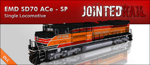 Union Pacific - EMD SD70ACe - Southern Pacific Heritage