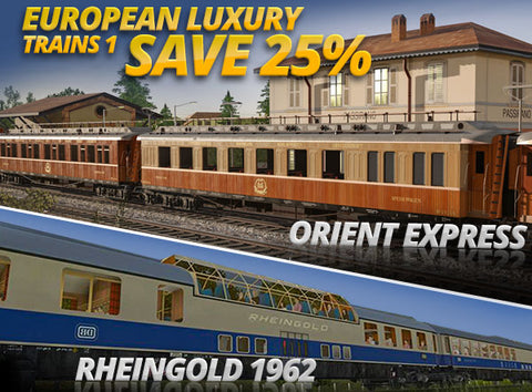 European Luxury Trains #1