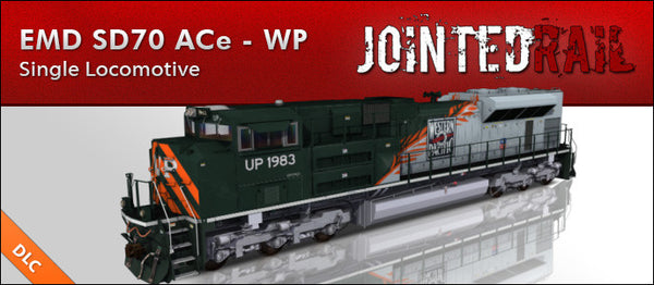 Union Pacific - EMD SD70ACe - Western Pacific Heritage