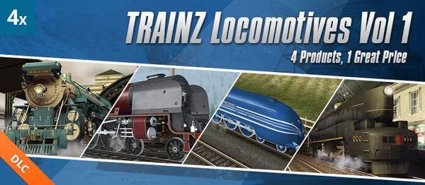 Locomotives Bundle Vol 1 (4 Pack)