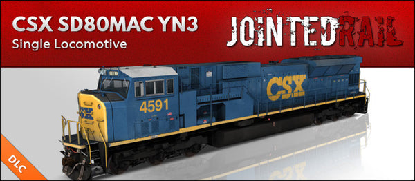 CSX Transportation - EMD SD80MAC YN3