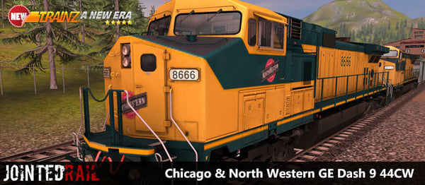 Chicago & North Western - GE Dash 9 44CW