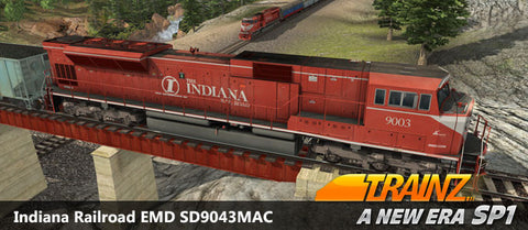 Indiana Railroad - EMD SD9043MAC