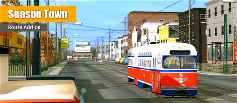 Trainz Route: Season Town