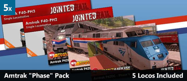 Amtrak Phase Bundle (5 Pack)