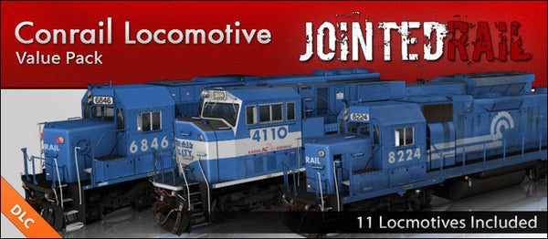 Conrail Locomotive Pack