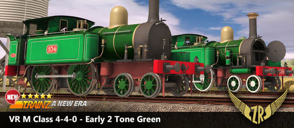 VR M Class 4-4-0 - Early 2 Tone Green