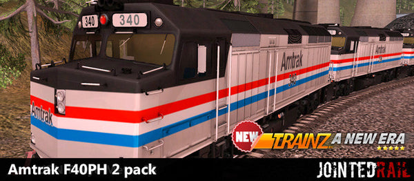 Amtrak F40PH 2 pack