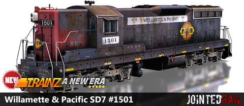 Willamette & Pacific SD7 #1501