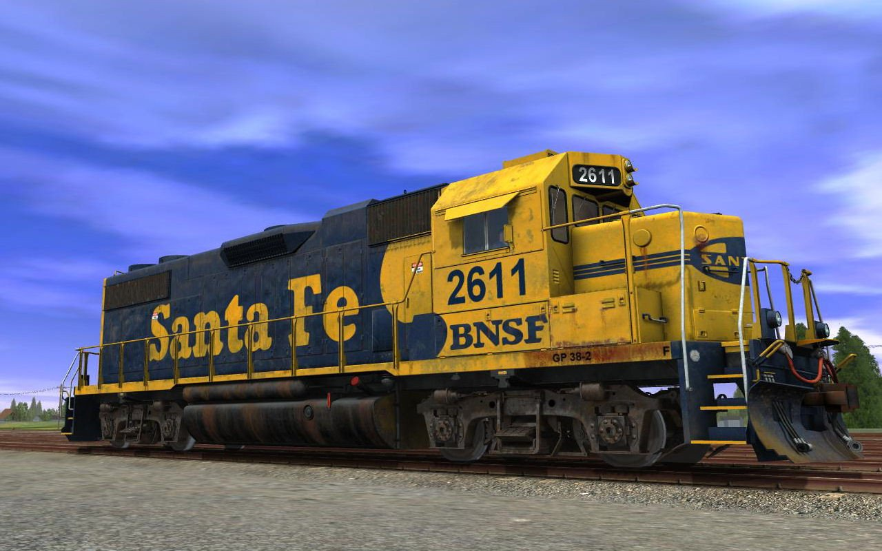atsf gp38 2 santa fe 2 pack trainz store. Black Bedroom Furniture Sets. Home Design Ideas