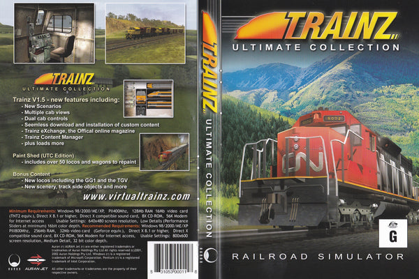 Ultimate Trainz Collection (2002)