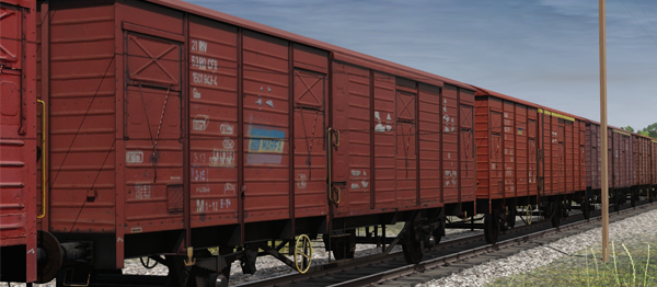 TRS19 - CFR Marfa Gbs/Gbgs freight car pack