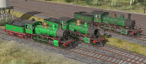 Victorian Railways V Class 2 Tone Green - Phoenix Foundry Built