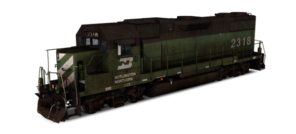 Burlington Northern Railroad - GP38-2 Alternate Model
