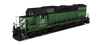 Burlington Northern Railroad - EMD GP38-2