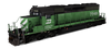 Burlington Northern Railroad - EMD SD40-2