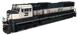 Burlington Northern Railroad - EMD SD70MAC