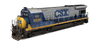 CSX Transportation - GE B30-7
