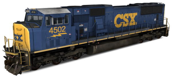 CSX Transportation SD70MAC Pack